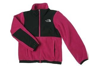 The North Face Denali Jacket - Girl's Razzle Pink/TNF Black XX-Small