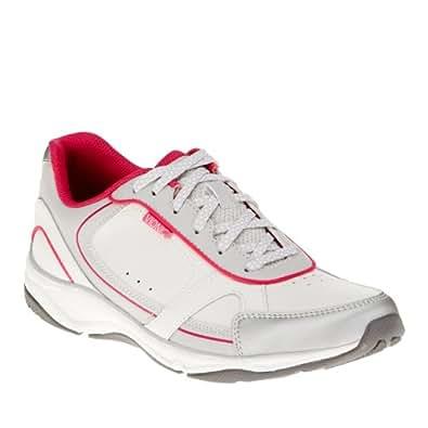Vionic Zen - Womens Walking Shoes - Orthaheel White/Pink - 5 Medium