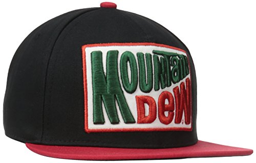 mountain-dew-patch-logo-snapback-cap