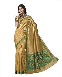 Srinidhi Silks Beige Raw Silk Sari (Ssi Tulsi 2639 B)