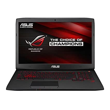 ASUS G751JL-T3024P 17.3-inch ROG-Series Touchscreen Gaming Laptop (Core i7-4720HQ/24GB/1TB/Win 8.1/2GB Graphics), Black