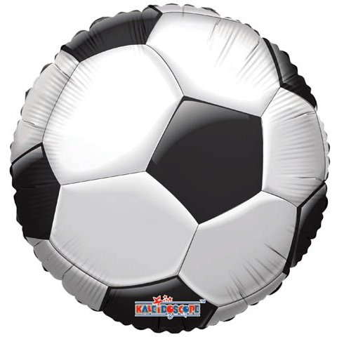 "18"" Soccer Ball Mylar Balloon - 1"