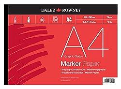 Daler-Rowney Marker Paper Pad A4
