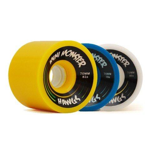 Landyachtz Mini Monster Hawgs Longboard Wheels (Set of 4) (80a White) (Hawgs Mini Monster compare prices)
