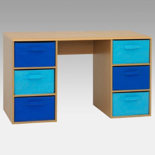 4D Concepts Boy'S Student Desk, Beech front-793060