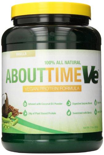 Sdc Nutrition About Time Vegan Protein Supplement, Vanilla, 2 Pound