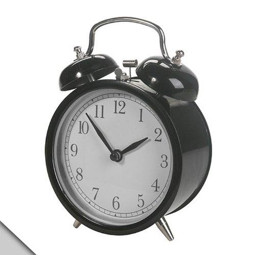 Ikea Alarm Clock, Black