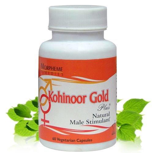 Morpheme Kohinoor Gold Plus To Enhance Libido - 500Mg Extract - 60 Veg Capsules