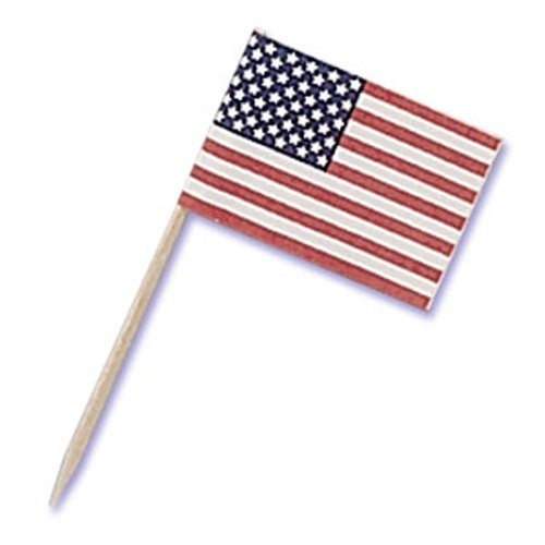 dress-my-cupcake-dmc41f-6-12-pack-paper-american-flag-pick-decorative-cake-topper-4th-of-july-red-wh