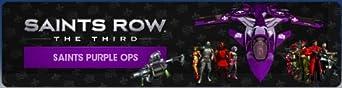 Saints Row: The Third - Saints Purple Ops Pack  [Online Game Code]