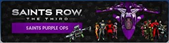 Saints Row: The Third - Saints Purple Ops Pack [Online Game Code]