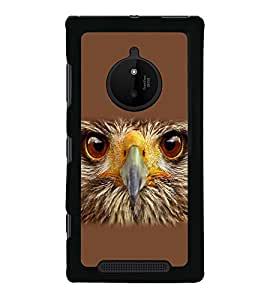 printtech Eagle Look Back Case Cover for  Nokia Lumia 830 RM-984