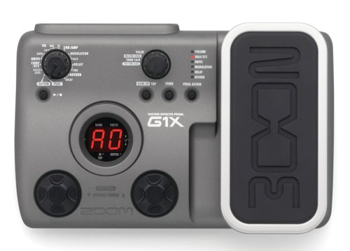music online store zoom g1x guitar multi effects pedal with expression pedal. Black Bedroom Furniture Sets. Home Design Ideas