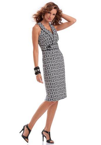 Sleeveless Linen Sheath Dress
