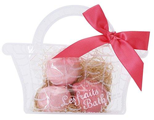 ノルコーポレーション お風呂用 芳香剤 レ・フリュイ バスフィズ ボム 30g りんごの香り OBーRFBー1ー1