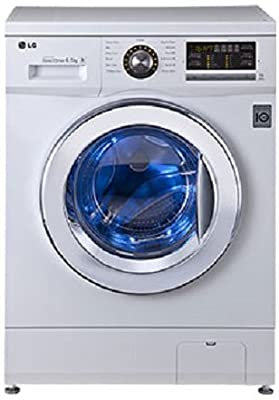 LG F1296WDL23 Six Motion Direct Drive Front-loading Washing Machine (6.5 Kg, Blue White)
