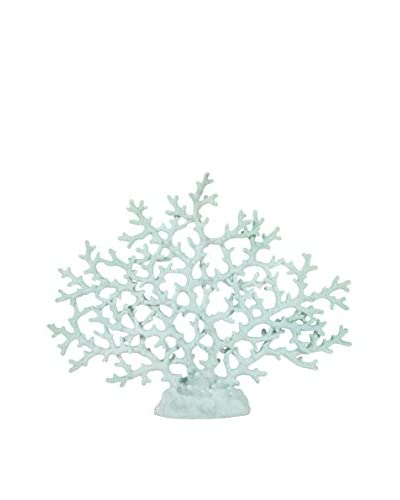 Haines Teal Coral Statue