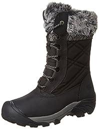 KEEN Women\'s Hoodoo III Winter Boot, Black/Gargoyle, 8 M US