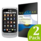 [2-Pack] LG Thrive Screen Protector by Nu-Clear - Military-Grade w/ Lifetime Warranty - HD Shield Ultra Clear