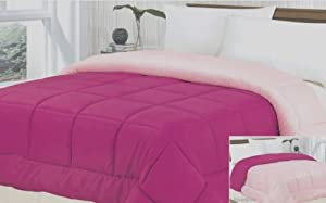 Multiple Sizes & Colors - Down Alternative Reversible Comforter
