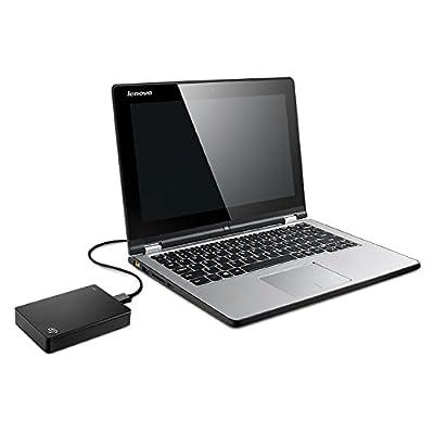 Seagate STDR4000300 4TB External Hard Drive (Black)