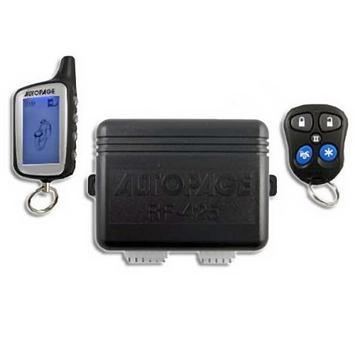 AutoPage 4-Channel Vehicle Alarm Security System with 2-way AM/AM LCD Transmitter - RF-425LCD