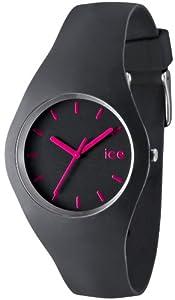 Ice-Watch - ICE.GY.U.S.12 - Montre Mixte - Quartz Analogique - Cadran Gris - Bracelet Silicone Gris de Ice-Watch