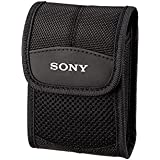Sony LCS-CST Soft Carrying Case For Slim Cybershot W180, W210, W220, W270 Series - Black
