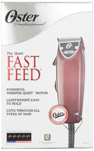 Oster Professional 76023-510 Fast Feed Clipper With Adjustable Blade