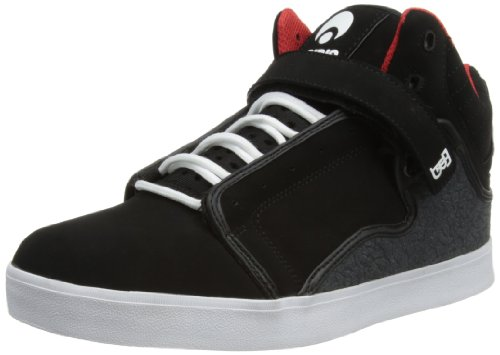 Osiris Shoes Mens Bingaman VLC Black/White/Red Skateboarding 10 UK, 45 EU