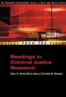 Voices from the Field: Readings in Criminal Justice...