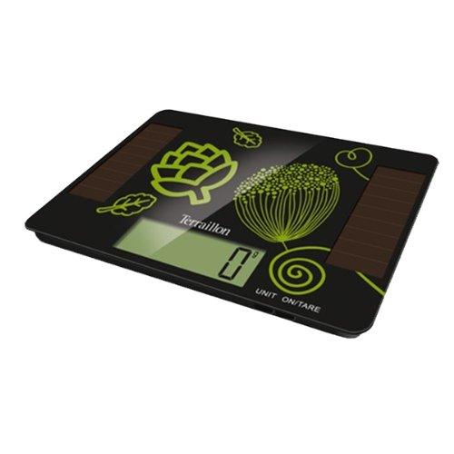 Terraillon - 12604 - Balance de cuisine électronique 5g - 1g SOLAR