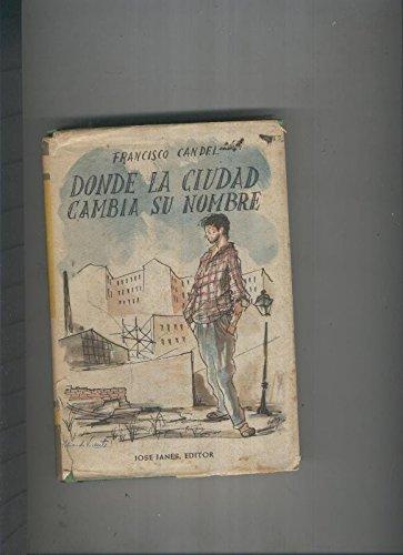 Donde La Ciudad Cambia Su Nombre descarga pdf epub mobi fb2