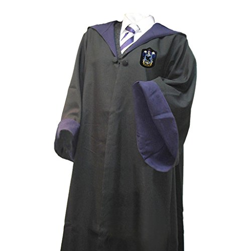 [Fashion A+ Magic Robe Four College Cloak Halloween Cosplay Cape] (Hogwarts Robe Costumes)