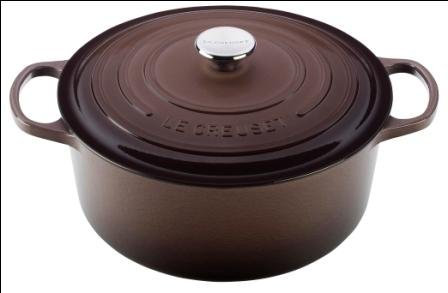 Le Creuset Signature Truffle Enameled Cast Iron Round French Oven, 5.5 Quart