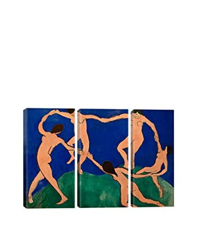 Henri Matisse The Dance I 3-Piece Canvas Print