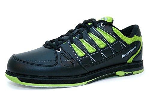 brunswick-flyer-chaussures-de-bowling-noir-adulte-et-enfant-pointure40farbe-schuheschwarz-grun