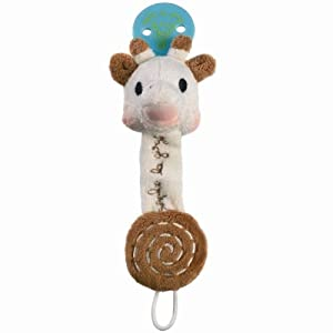 Vulli 456011 - Cadena para chupete, diseño Sophie la jirafa