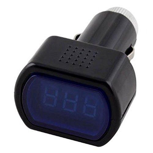 Vehicle Car 12v 24v Battery Voltage Meter Monitor Tester Checker