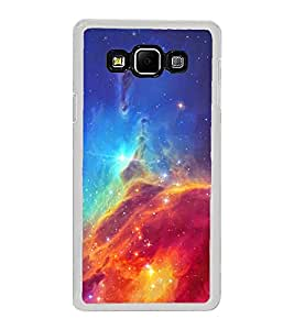 Colourful Galaxy 2D Hard Polycarbonate Designer Back Case Cover for Samsung Galaxy A8 (2015 Old Model) :: Samsung Galaxy A8 Duos :: Samsung Galaxy A8 A800F A800Y