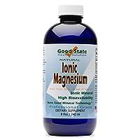 Liquid Ionic Minerals Magnesium (96 Servings at 100 mg Elemental - plus 2 mg fulvic acid)