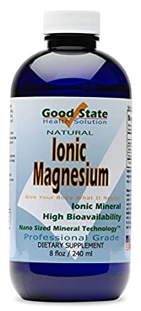 Liquid Ionic Minerals Magnesium (96 Servings at 100 mg Elemental - plus 2 mg fulvic acid)