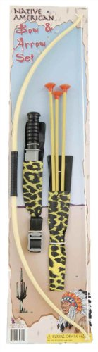 Costume Weapon: Native American Bow And Arrow [2 Pieces] *** Product Descript...