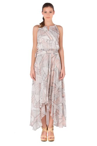 Tori Richard Women's Silks Catherine Swahili Maxi Dress Swim Cover Up Pearl 2