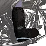 Nelson-Rigg WPRB-100 Waterproof Rain Boot Covers - Large/Black