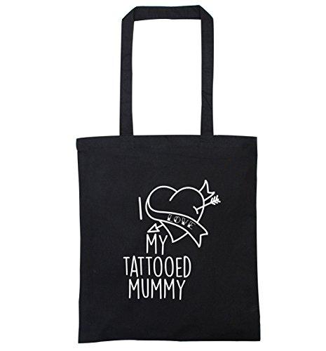 I love my tattooed mummy tote bag