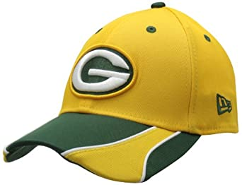 NFL Green Bay Packers Vizaslide 39Thirty Flex Fit Cap by New Era