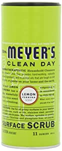 Mrs. Meyer's Clean Day Surface Scrub, Lemon Verbena, 11 Ounce Canister
