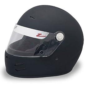 Zamp H71403FM FSA-2 Full Face Helmet, Matte Black, Medium