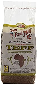 Bob's Red Mill Whole Grain Teff, 24-Ounce Packages (Pack of 4)